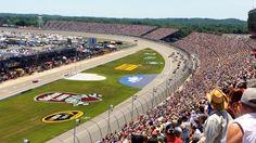 June 1973 Penske Enterprises acquire Michigan International Speedway in Brooklyn, Michigan, USA. Nascar Race Tracks, Nascar Racing, Baseball Field, Michigan, Brooklyn, History, Hobbies, Truck, Hotels