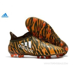 new styles 35d1d e430d 2018 FIFA World Cup adidas X 17+ FG Purechaos CP9121 Bright Orange  Trace  Olive Football shoes