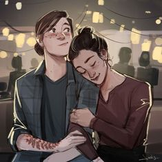 Ellie from the last of us! Cute Lesbian Couples, Lesbian Art, Gay Art, Character Inspiration, Character Art, The Lest Of Us, Arte Sketchbook, Couple Drawings, Life Is Strange