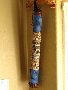 Native American Flute Case Kokopelli Dance by innerfiredesign