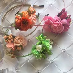 Our assortment has replenished ! Floral headband for girls and ladies) Red Wedding Flowers, Flower Crown Wedding, Lilac Flowers, Bridal Flowers, Large Flowers, Tropical Flowers, Flowers In Hair, Colorful Flowers, Beautiful Flowers