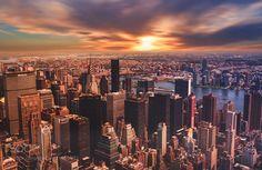 Good Night New York. by qgphoto. @go4fotos