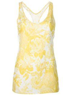 STELLA MCCARTNEY - printed cross-strap vest 1