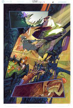 Infinite City, mood study by CarlosMeglia on DeviantArt Manga Art, Art Direction, Graphic Novel Art, Animation Film, Drawing Illustrations, Comics Artwork, Illustration Art, Graphic Novel, Art