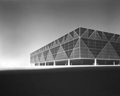 Ludwig Mies van der Rohe, Convention Hall, Chicago, Illinois, 1953-54