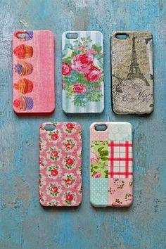 decoupage phone cases