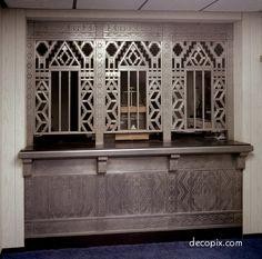 Banking Window, Guardian Bldg. - Detroit. MI