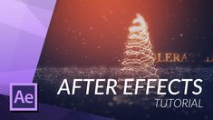 CREATE A CHRISTMAS TREE in AFTER EFFECTS with PARTICULAR - http://tutorials411.com/2016/12/03/create-christmas-tree-effects-particular/