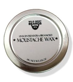 Unscented Extra Firm Hold Mustache Wax