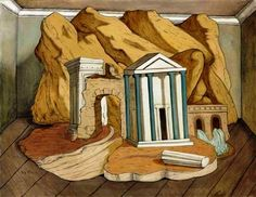 View Thèbes by Giorgio de Chirico on artnet. Browse upcoming and past auction lots by Giorgio de Chirico. Dali, Magic Realism, Italian Painters, Art Auction, Oil On Canvas, Modern Art, Fine Art, Abstract, Gallery