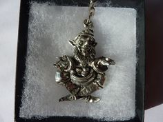 Leprechaun Keyring  in pewter a perfect St by SJHdesignsuk on Etsy