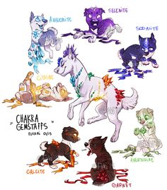 chakra gemstaffs - adoptable auctions - OPEN by Fuki-adopts.deviantart.com on @DeviantArt