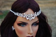Hey, I found this really awesome Etsy listing at https://www.etsy.com/listing/225839853/bridal-rhinestone-tiara-headband-bridal