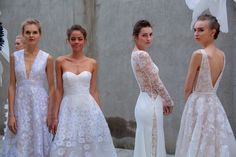 355d30c12aa 48 Jaw-Dropping Dresses from Bridal Week 2016