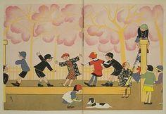 Kodomo no kuni, japanese magazine circa 1920.