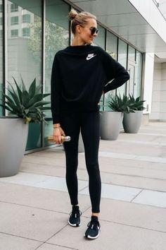 Cute Outfits With Leggings, Cute Leggings, Fall Leggings, Gym Leggings, Leggings Store, Black Leggings Outfit Summer, Nike Leggings Black, Cheap Leggings, Athletic Wear