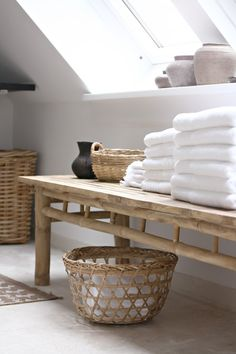 Love the natural look and feel in this bathroom. Find more feng shui bathroom decor tips: http://FengShui.About.com