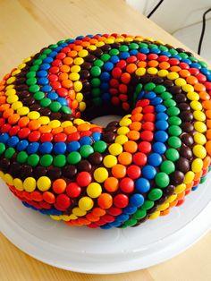 Rainbow cake  Regenbogen Kuchen