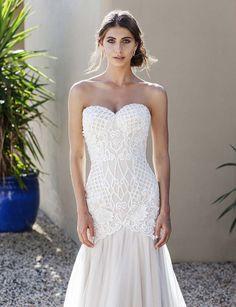 2688f1c58151 Sian Size 14 by Jack Sullivan Bridal - Mia Sposa Bridal Boutique Trumpet  Style Wedding Dress