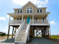 House vacation rental in Folly Beach, South Carolina, United States of America from VRBO.com! #vacation #rental #travel #vrbo