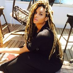 Ciara Debuts New Look: Gorgeous Dreadlock Extensions