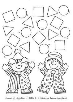 Hottest Totally Free preschool crafts shapes Thoughts This page features SO MANY Kids crafts which have been suitable for Toddler plus Little ones. I believed it was time p Preschool Circus, Circus Crafts, Carnival Crafts, Preschool Worksheets, Kindergarten Math, Learning Activities, Preschool Activities, Kids Learning, Preschool Shapes