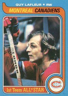 1979 Topps Guy LaFleur #200 Hockey Card