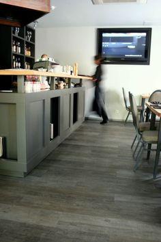 Expona silver wood - restorane, Lietuva / in restaurant, Lithuania