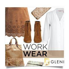 Work Wear by captainsilly on Polyvore featuring mode, Sans Souci, Yves Saint Laurent and Casetify