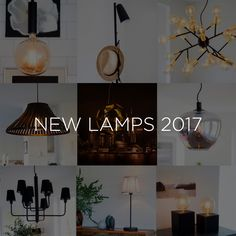 Sessak's new pendant, wall, table and floor lamps for year 2017