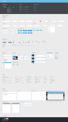 png by Joseph Töreki Website Style Guide, Web Style Guide, Style Guides, Web Design, App Ui Design, User Interface Design, Web Dashboard, Dashboard Design, Ui Patterns