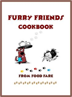 Contains more than 60 recipes for homemade dog and cat food!