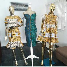African Attire, African Wear, African Women, African Dress, Latest African Fashion Dresses, African Print Fashion, Africa Fashion, Fashion Sewing, Girl Fashion