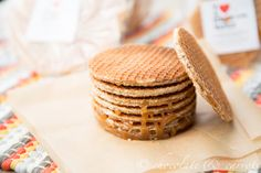 Stroopwafels freshly made and shipped within the US! Also, a recipe for Stroopwafel Stuffed Whole Grain Snickerdoodles! @caroline k. Edwards | chocolate and carrots