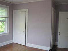 sw veiled violet- I like this one better! Violet Bedroom Walls, Mauve Bedroom, Girl Bedroom Walls, Bedroom Paint Colors, Paint Colors For Home, Room Colors, Bedrooms, Bedroom Decor, Room Wall Painting