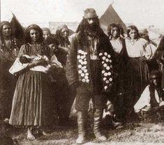 1892 year Gypsy Man | Kalderari tabor (family) | Кэлдэрарский табор (in Russian)