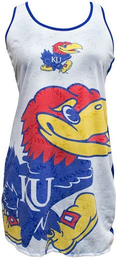 Women's Kansas Jayhawks Cameo Nightgown