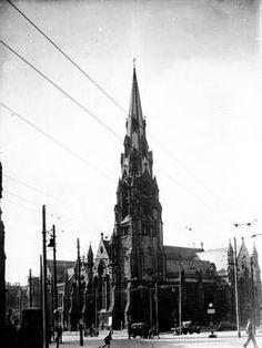 Carlisle Memorial Methodist Church, Clifton St. Belfast.  13/5/1949 Belfast Telegraph Collection/NMNI