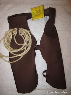 Sycamore Corner Crafts: Tutorial - Toddler Cowboy or Cowgirl Chaps