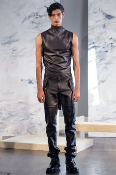 Leather Fashion, Leather Men, Leather Pants, Mens Fashion, Teenage Guys, Hommes Sexy, Sexy Teens, Future Fashion, Dressed To Kill