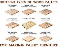 Pallet Types for Making DIY Pallet Furniture