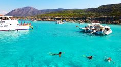 The incredible Blue Lagoon in Akamas, Paphos - Cyprus