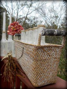 Shabby Centerpiece-French Country Wedding by PetiteSophisticateDz