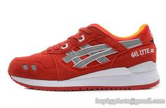 Men's Asics Gel Lyte III Sneaker Rose Red|only US$95.00 - follow me to pick up couopons.