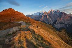 Marmolada 1 - Photos from autumn Dolomites. Travel Photographer, Great Photos, Italy, Mountains, Landscape, Nature, Photography, Beautiful, Autumn