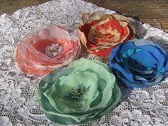 Arte en casa by Nauma: Mis flores de tela
