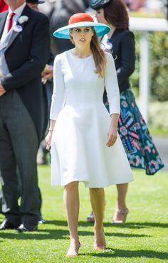 Princess Beatrice of York at Royal Ascot.   - TownandCountryMag.com