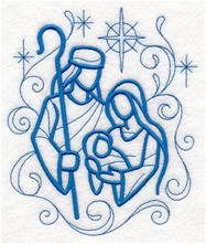 Nativity Towel - Christmas Towel - Holy Family - Embroidered Towel - Flour Sack Towel - Hand Towel - Bath Towel - Apron - Fingertip Towel by on Etsy Learn Embroidery, Hand Embroidery Patterns, Machine Embroidery Designs, Embroidery Needles, Geometric Embroidery, Embroidery Sampler, Embroidery Leaf, Christmas Drawing, Christmas Paintings