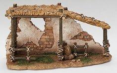 "Fontanini 5"" ANIMAL CORRAL Nativity Village Building 55575"
