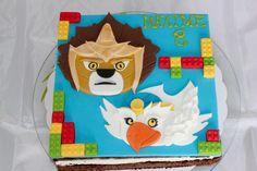 cake légo chima by christel kiki